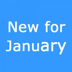 New for January