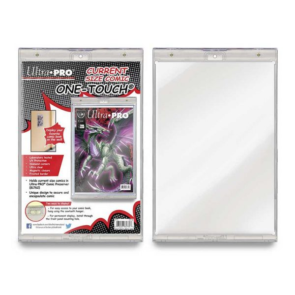 UP84735 UV 600x600 - ULTRA PRO ONE TOUCH - Comic Current Size Magnetic Holder
