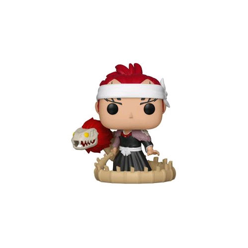 FUN21702 Bleach RenjiBankai Sword Pop 3 - Bleach - Renji with Bankai Pop! Vinyl Figure #347 + Protector