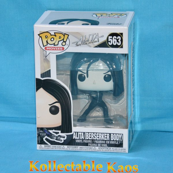 FUN30748 Alita Berserker B W Pop 1 600x600 - Alita: Battle Angel - Alita Berserker Body Black and White Pop! Vinyl Figure (RS) #563