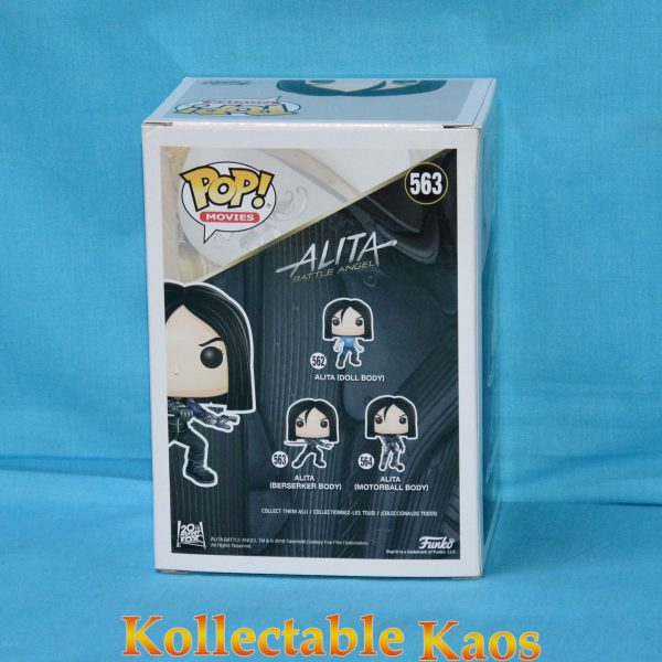 FUN30748 Alita Berserker B W Pop 2 600x600 - Alita: Battle Angel - Alita Berserker Body Black and White Pop! Vinyl Figure (RS) #563
