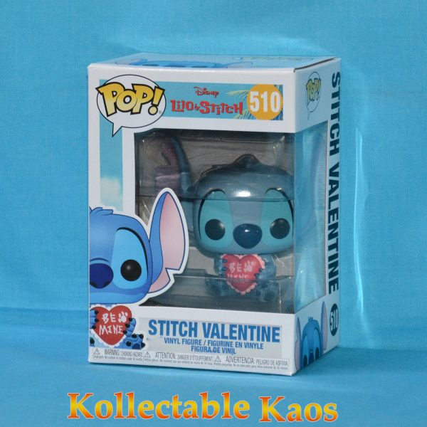 FUN33376 LiloandStitch Valentine Pop 1 600x600 - Lilo and Stitch - Stitch Valentine Pop! Vinyl Figure (RS) #510