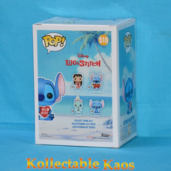 FUN33376 LiloandStitch Valentine Pop 2 600x600 - Lilo and Stitch - Stitch Valentine Pop! Vinyl Figure (RS) #510