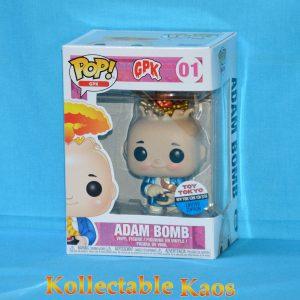 FUN34224 GPK Adam Bomb 1 300x300 - NYCC 2018 - Garbage Pail Kids - Adam Bomb Pop! Vinyl Figure (RS) #01 + Protector