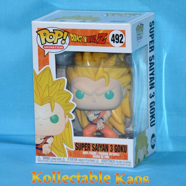 FUN34978 Dragon Ball Z SS3 Goku Pop 1 600x600 - Dragon Ball Z - Super Saiyan 3 Goku Pop! Vinyl Figure (RS) #492 + Protector