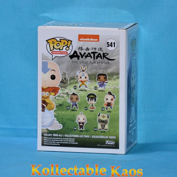 Avatar: The Last Airbender - Aang on Airscooter Pop! Vinyl