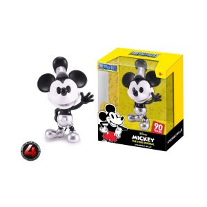 "JAD30025 Steamboat Willie metals 300x300 - Disney - Steamboat Willie 10cm(4"") Metals"