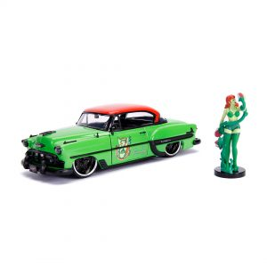 JAD30455 Ivy Ride 1 300x300 - 1:24 Jada Hollywood Rides - 1953 Chevy Bel Air - DC Bombshells Poison Ivy