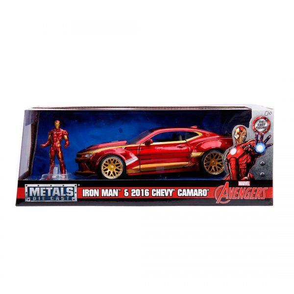 1:24 Jada Hollywood Rides - 2016 Chevy Camero SS - Iron Man