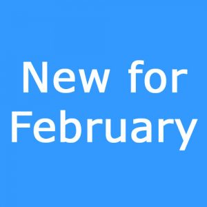 New for February