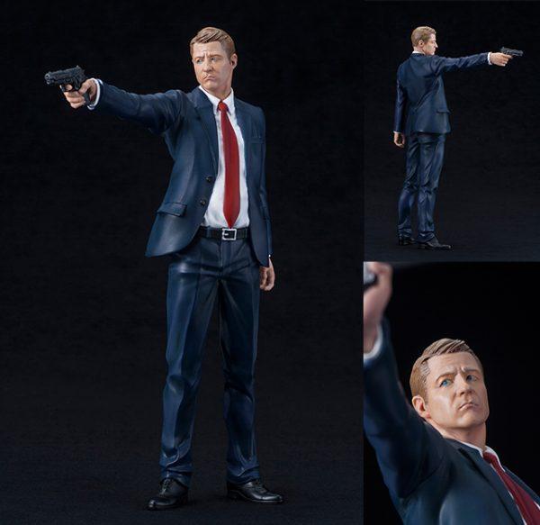 "SV186 James Gordan 1 600x583 - Gotham TV series - James ""Jim"" Gordon ArtFX+ Statue"