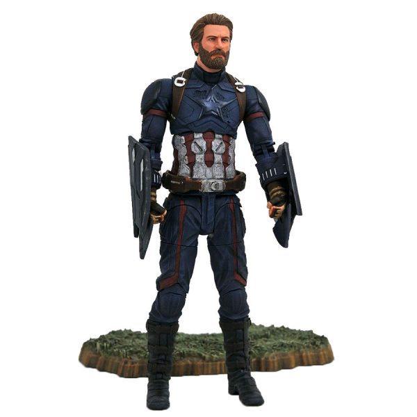 DSTAPR182168 Avengers 3 Captain America Action Figure 600x600 - Avengers 3: Infinity War - Captain America Action Figure