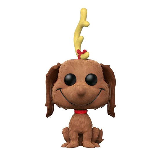 FUN24674 Dr Seuss Max the Dog Flocked Pop 3 - The Grinch - Max the Dog Flocked Pop! Vinyl Figure (RS) #13