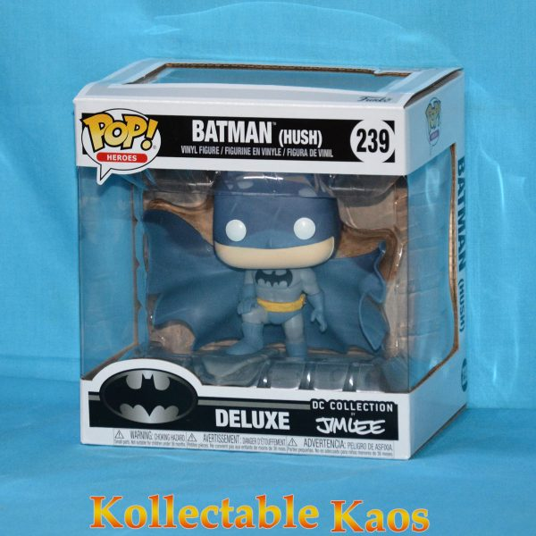 FUN32337 Batman on Gargoyle MM Pop 1 600x600 - Batman: Hush - Batman on Gargoyle Comic Moments Pop! (RS) #239 box bowed factory/flaw