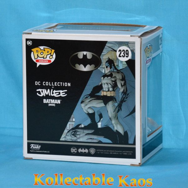 FUN32337 Batman on Gargoyle MM Pop 2 600x600 - Batman: Hush - Batman on Gargoyle Comic Moments Pop! (RS) #239 box bowed factory/flaw