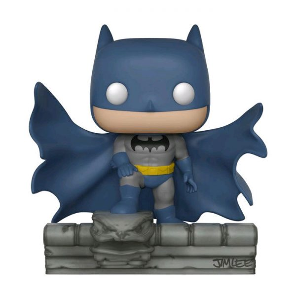FUN32337 Batman on Gargoyle MM Pop 3 600x600 - Batman: Hush - Batman on Gargoyle Comic Moments Pop! (RS) #239 box bowed factory/flaw