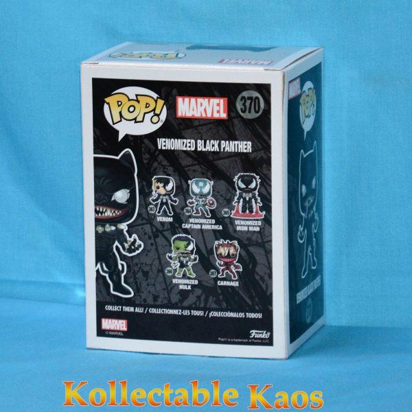 FUN34531 SpiderMan Venom Black Panther Pop 2 600x600 - Venom - Venomized Black Panther Pop! Vinyl Figure (RS) #370