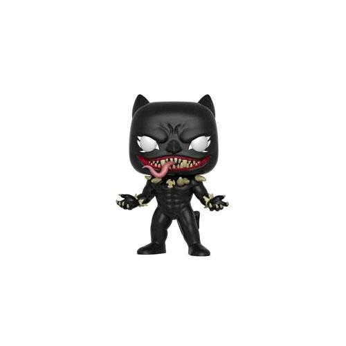 FUN34531 SpiderMan Venom Black Panther Pop 3 - Venom - Venomized Black Panther Pop! Vinyl Figure (RS) #370
