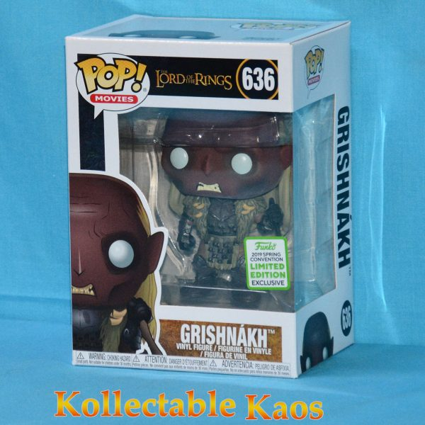 FUN34712 LOTR Grishnakh POP ECCC 1 600x600 - 2019 ECCC - The Lord of the Rings - Grishnakh Pop! Vinyl Figure (RS) #636 + Protector
