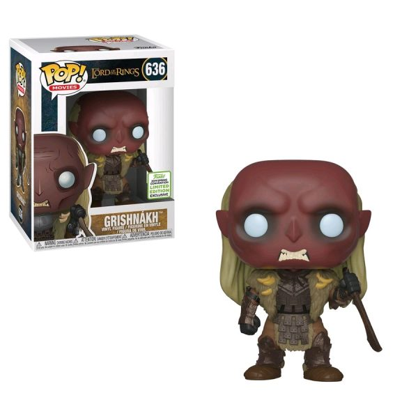 FUN34712 LOTR Grishnakh POP ECCC 3 600x600 - 2019 ECCC - The Lord of the Rings - Grishnakh Pop! Vinyl Figure (RS) #636 + Protector