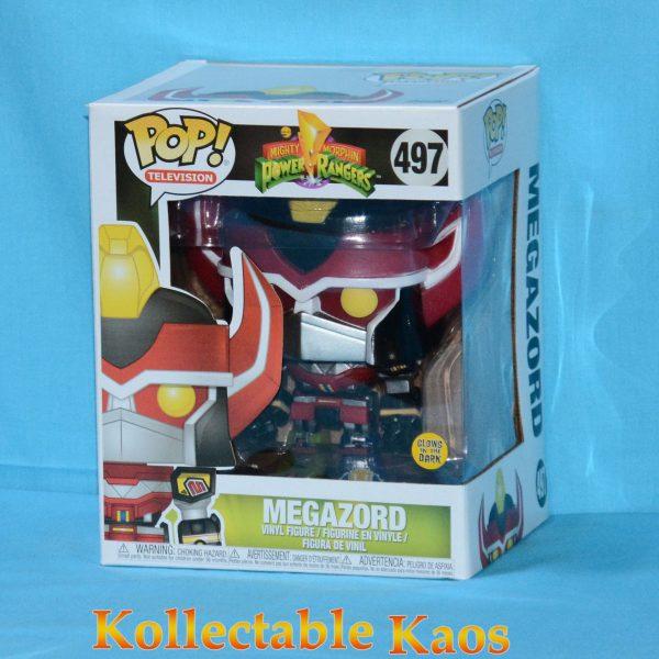 "FUN35317 Power Rangers Megazord GW Pop 1 600x600 - Power Rangers - Megazord 6"" Super Sized Glow in the Dark Pop! Vinyl Figure (RS) #497"