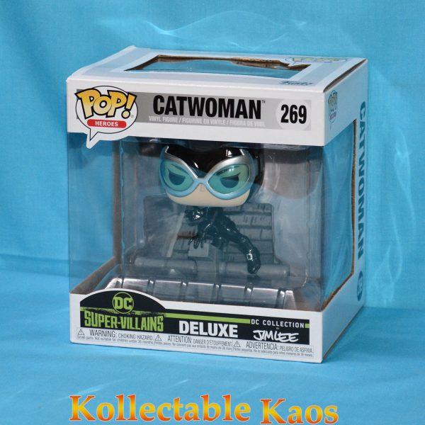 FUN36310 Catwoman pop deluxe 1 600x600 - Batman: Hush - Catwoman on Rooftop Jim Lee Collection Deluxe Pop! Vinyl Figure (RS) #269