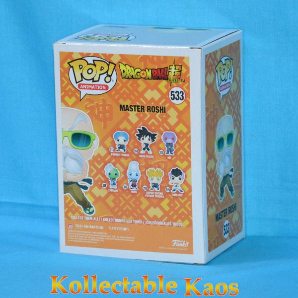 FUN36607 DBZ 30th Master Roshi Max Power Pop 2 600x600 - Dragon Ball Super - Master Roshi Max Power Pop! Vinyl Figure #533