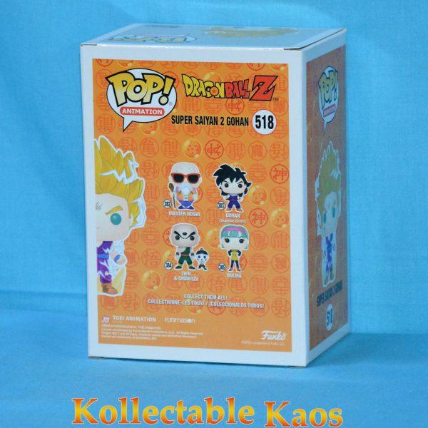 FUN36917 Dragon Ball Z Gohan SS2 Pop 2 600x600 - Dragon Ball Z - Super Saiyan 2 Gohan Pop! Vinyl Figure (RS) #518 + Protector