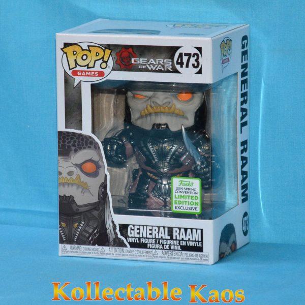 FUN36980 Gears Of War General Raam POP ECCC 1 600x600 - 2019 ECCC - Gears of War - General RAAM Pop! Vinyl Figure (RS) #473 + Protector
