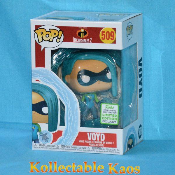 FUN37020 Incredibles2 Voyd POP ECCC 1 600x600 - 2019 ECCC - Incredibles 2 - Voyd Pop! Vinyl Figure (RS) #509 + Protector