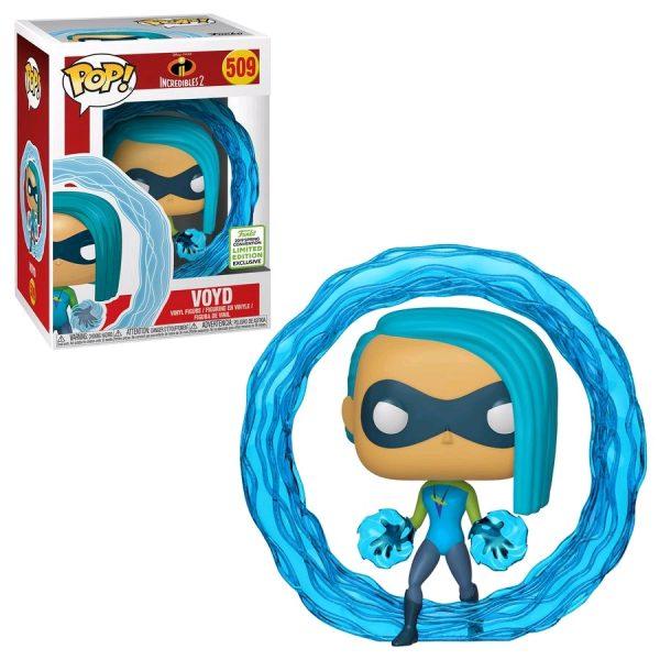 FUN37020 Incredibles2 Voyd POP ECCC 3 600x600 - 2019 ECCC - Incredibles 2 - Voyd Pop! Vinyl Figure (RS) #509 + Protector