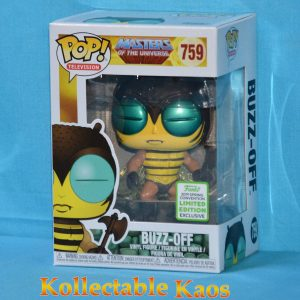 FUN37125 MOTU Buzz Off POP ECCC 1 300x300 - 2019 ECCC - Masters of the Universe - Buzz-Off Pop! Vinyl Figure (RS) #759 + Protector