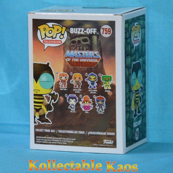 FUN37125 MOTU Buzz Off POP ECCC 2 600x600 - 2019 ECCC - Masters of the Universe - Buzz-Off Pop! Vinyl Figure (RS) #759 + Protector