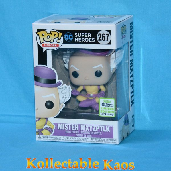 FUN37210 DC Mister Mxyzptlk Pop ECCC 1 600x600 - ECCC 2019 - Superman - Mr. Mxyzptlk Pop! Vinyl Figure (RS) #267 + Protector