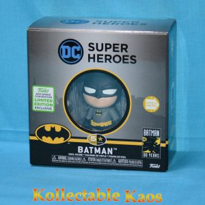 "FUN37212 Batman 5Star ECCC 1 300x300 - 2019 ECCC - Batman - Batman Black & Yellow 5 Star 10cm(4"") Vinyl Figure (RS)"