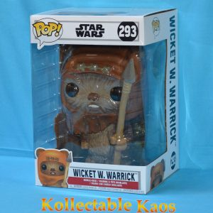 "FUN37523 Star Wars Wicket Pop 1 300x300 - Star Wars - Wicket W. Warrick 10"" Pop! Vinyl Figure (RS) #293"