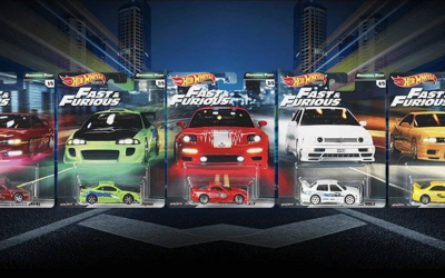 Fast and Furious Collectable Diecast Models by Hot Wheels Coming Soon