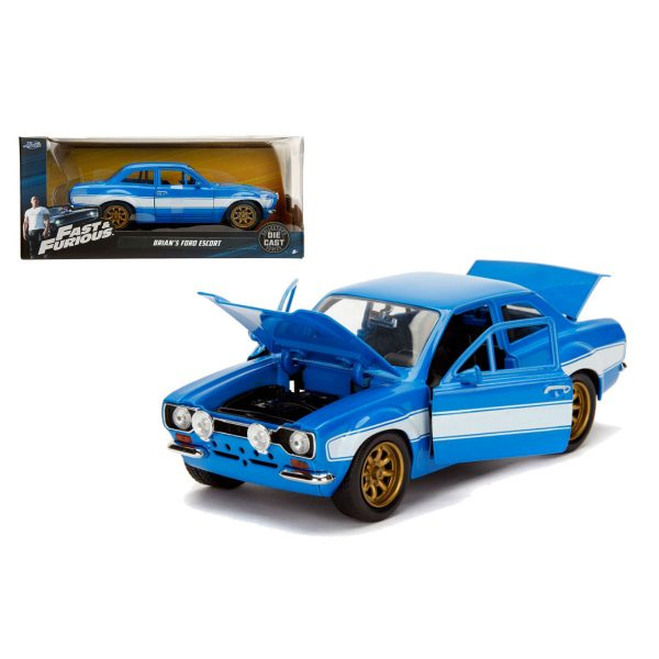 1:24 Jada - Fast & Furious 6 - Brian's Ford Escort MK1