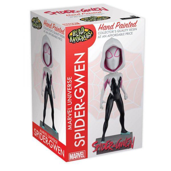 NEC61500 Spiderman Spider Gwen Masked Head Knocker 2 600x600 - Spider-Man - Spider-Gwen Masked Head Knocker