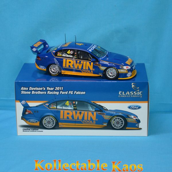 CC 18467 2011 Ford Davison 1 600x600 - 1:18 2011 Stone Brothers Racing - Ford FG Falcon - Alex Davison