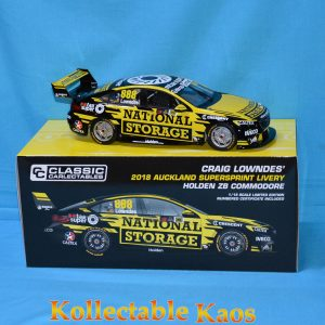 1:18 Classics - 2018 Holden ZB Commodor - Craig Lowndes