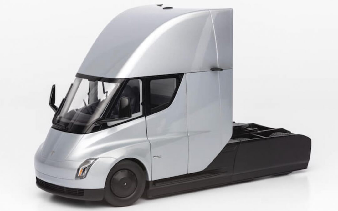 Diecast Model Tesla Semi Truck
