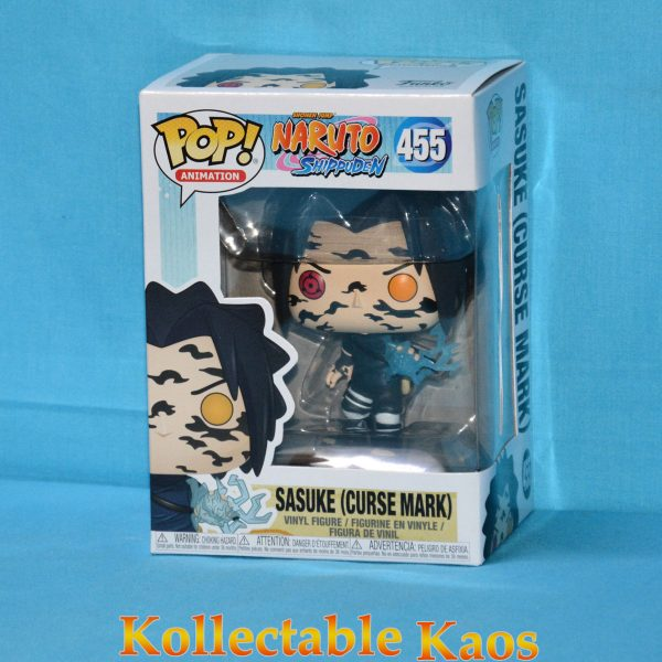 FUN35525 Naruto Sasuke Curse Pop 1 600x600 - Naruto: Shippuden - Sasuke with Cursed Mark Pop! Vinyl Figure (RS) #455 + Protector