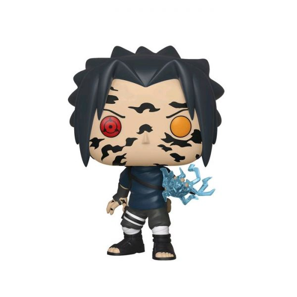 FUN35525 Naruto Sasuke Curse Pop 3 600x600 - Naruto: Shippuden - Sasuke with Cursed Mark Pop! Vinyl Figure (RS) #455 + Protector