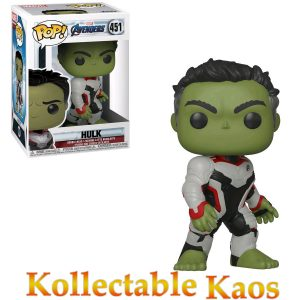 FUN36659 Avengers Hulk Pop 300x300 - Avengers 4: Endgame - Hulk in Team Suit Pop! Vinyl Figure #451