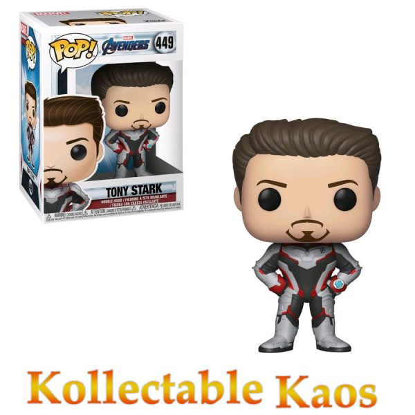 FUN36660 Avengers Tony Stark Pop 600x600 - Avengers 4: Endgame - Tony Stark in Team Suit Pop! Vinyl Figure #449