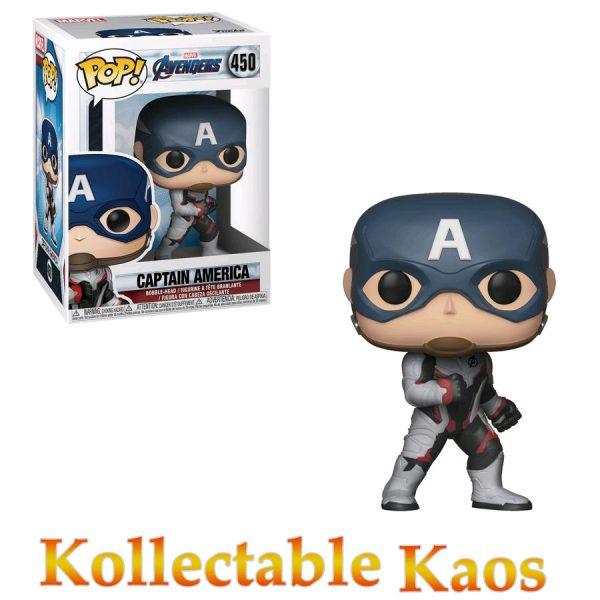 FUN36661 Avengers Captain America Pop 600x600 - Avengers 4: Endgame - Captain America in Team Suit Pop! Vinyl Figure #450