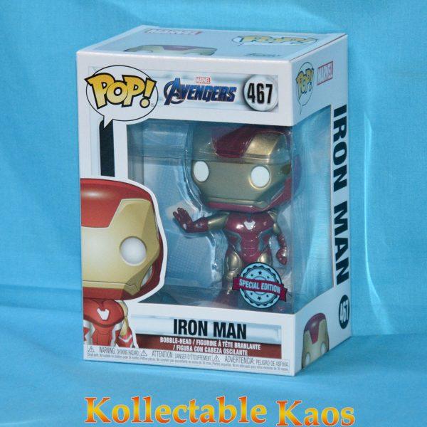 FUN36674 Avengers Iron Man Pop 1 600x600 - Avengers 4: Endgame - Iron Man Pop! Vinyl Figure (RS) #467