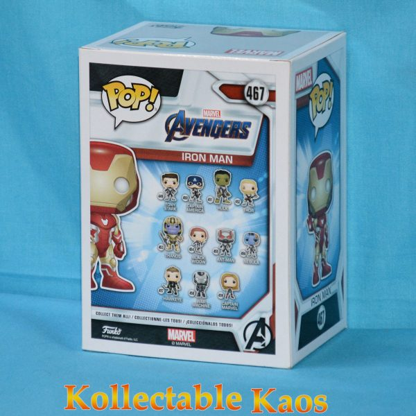 FUN36674 Avengers Iron Man Pop 2 600x600 - Avengers 4: Endgame - Iron Man Pop! Vinyl Figure (RS) #467