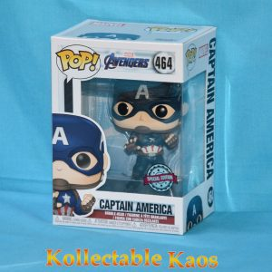 FUN36676 Avengers Cap America Pop 1 300x300 - Avengers 4: Endgame - Captain America Pop! Vinyl Figure (RS) #464
